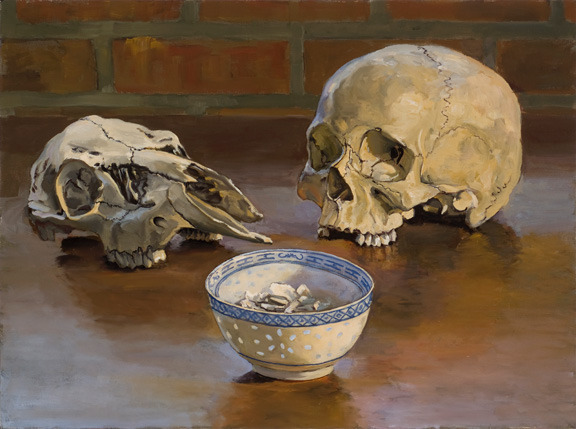 """Still life with my Father's Ashes, 18"""" x 24"""""""