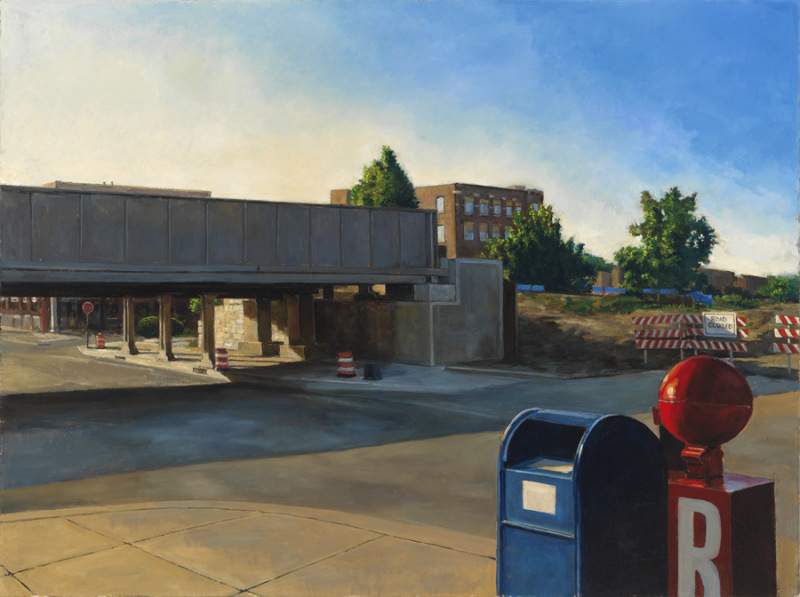 """Wilson and Ravenswood, 30x40"""""""