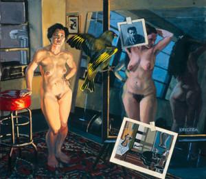 "Braque and Kline, 31"" x 34"",1998"
